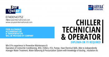 Chiller Technician & Operator
