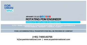 ROTATING PDM ENGINEER